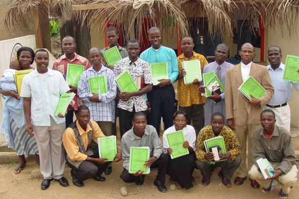 Early National Pastor Training in Ivory Coast